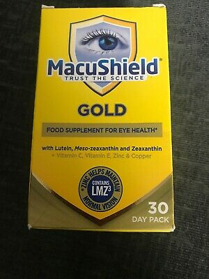 MacuShield Gold Formula 90 Softgel Pack Brand New 04/2021