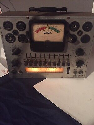 Eico Model 625 Tube Tester Works Perfect made in the u.s.a