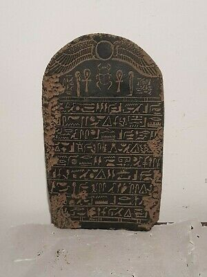 Rare Antique Ancient Egyptian Stela Book Dead Holy Sacred Book Heaven1820-1730BC