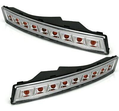 VW PASSAT 3C 3/05-6/10 LED FRONTBLINKER in KLARGLAS CHROM BLINKER SET vorne MCP