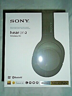 "Sony hear on 2 Wireless WH-H900N Noise Canceling Stereo Headset ""NEW"""