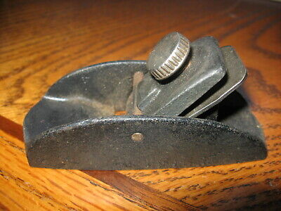 """Vintage Antique Woodworking Small Size Plane Tool 3 1/2"""" long"""