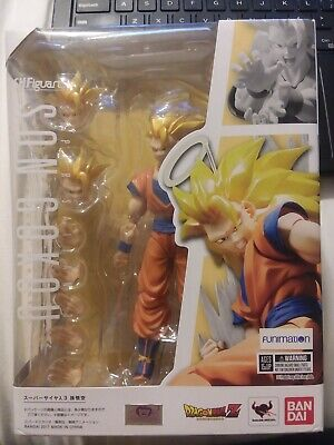 S.H. Figuarts Super Saiyan 3 Goku Opened Once US Seller MIB