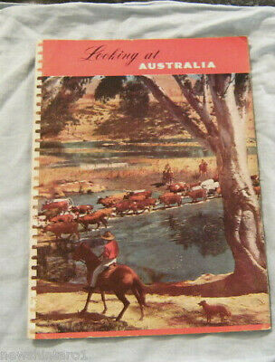 #T10.  1950s PICTORIAL - LOOKING AT AUSTRALIA