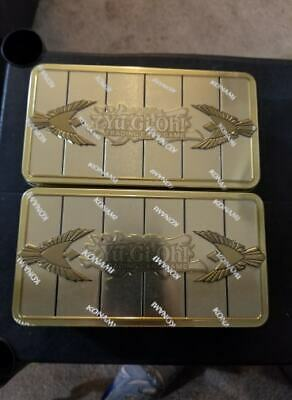 Lot Of 2 Yu-Gi-Oh! 2019 Gold Sarcophagus Mega Tin, Sealed, In Hand