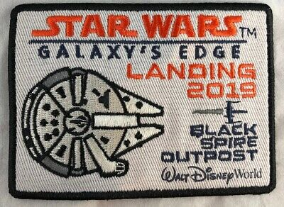 Disney Parks Star Wars Galaxy's Edge Landing 2019 Black Spire Outpost WDW Patch