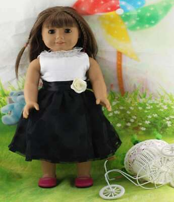 Doll Clothes Dress Accessories Top For 18 inch Outfit Toy Girl Fashion Handmade