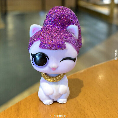 LOL SURPRISE DOLL Makeover Pet Lil Purrfect Purrrfect Perfect Glitter Series toy