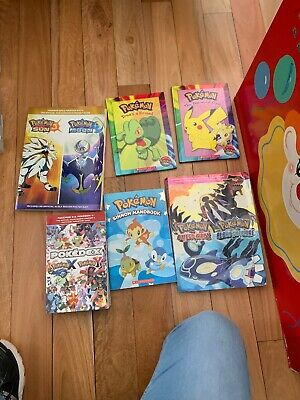 Pokémon Sun And moon,x And Y, Omega Ruby And Alpha Sapphire And 3 Kids Books