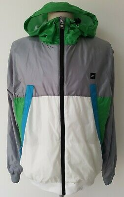 Mens Nike Full-Zip Hooded Windbreaker Jacket Size Large