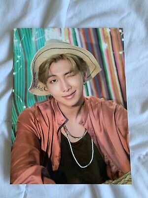 Official BTS Summer Package Saipan 2018 Mini Poster RM Kim Namjoon