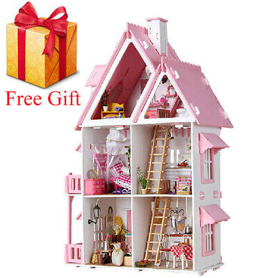 LOL SURPRISE DOLL HOUSE Made with REAL WOOD - Christmas Gift for Kid