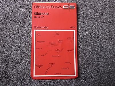 Glencoe  .  Ordnance Survey One-Inch Map  .  Sheet 47  , 1971  +