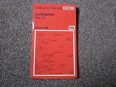 Lochcarron  .  Ordnance Survey One-Inch Map  .  Sheet 26  , 1972  +