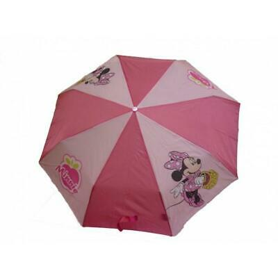 Disney - Minnie- Ombrello portatile - Colore Rosa