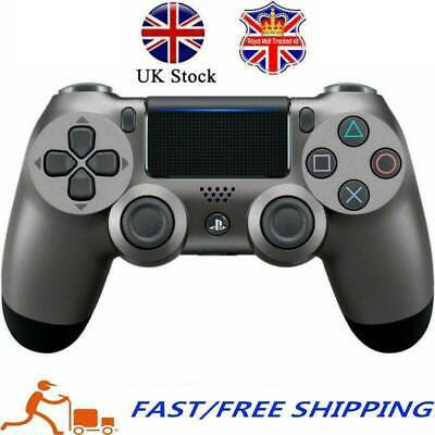 Steel Gray PS4 Wireless Game Controller PlayStation Dualshock 4 For SONY PS4 UK