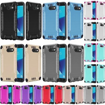 For Samsung Galaxy Halo/J7 (2017)/J7 Prime/J7 Sky Pro/J7 V Hard Hybrid Case