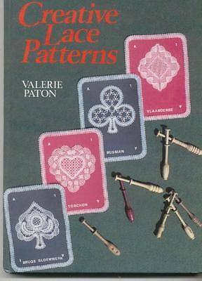 Creative Lace Patterns Book Bruges Torchon Russian Vlanderse