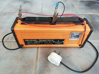 Vintage Selmar Startrite Auto Battery Charger 6v or 12v Output
