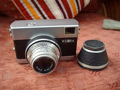 Vintage 1950s/60s Werra Camera With Carl Zeiss Jena Lens - Great Camera!