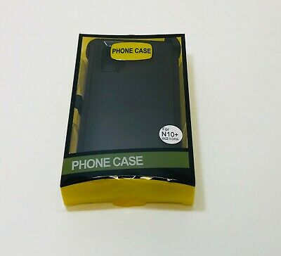 Black For Samsung Galaxy Note 10+Plus Defender Case w/ Belt Clip fits Otterbox