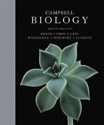 Campbell Biology by Michael L. Cain, Peter V. Minorsky, Neil A. C. - VERY GOOD