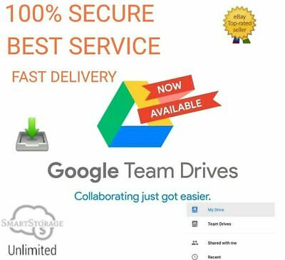 Google Team Drive Unlimited 0.9$ Life Time