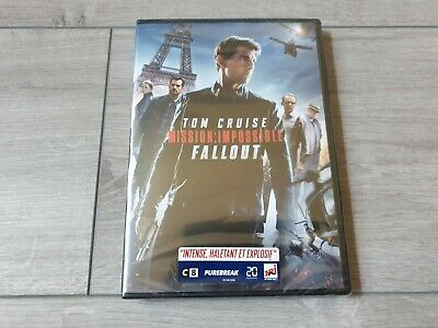 Dvd Mission Impossible Fallout  Dvd Neuf Sous Cello