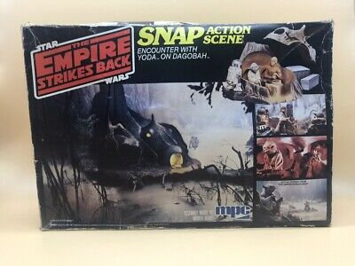 1981 Star Wars Mps The Empire Strikes Back Model Kit Complete Snap Action Scenes