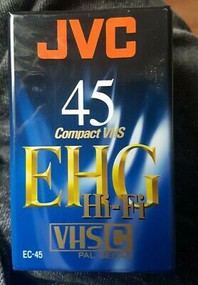 JVC 45 Compact VHS - SEALED