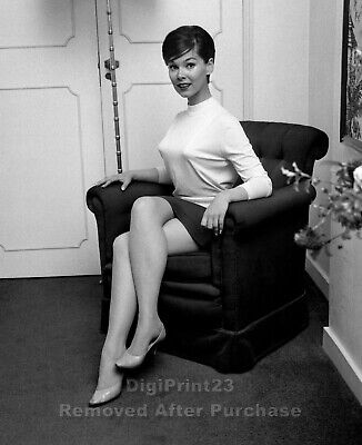 Beautiful Actress Yvonne Craig Pin Up - 8X10 Photo Picture