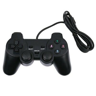 USB Wired PS4 Style Dual Shock Gamepad Controller Joypad Pad For PC Notebook