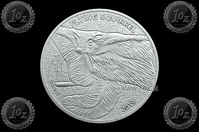 CAMEROON 1000 FRANCS 2019 ( FLYING SQUIRREL ) 1oz SILVER coin (Ag 999/1000) UNC