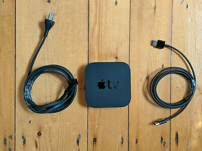 Apple TV (3rd Generation) 8GB Digital HD Media Streamer - Black NO REMOTE