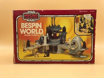 1982 Original Star Wars Bespin World Very Rare Micro Collection Vintage Kenner