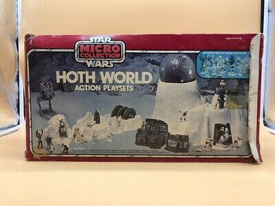 1982 Original Star Wars Hoth World Very Rare Micro Collection Vintage Kenner