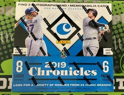 2019 Panini Chronicles Jose Canseco 2 Case Player Break (32 Boxes)