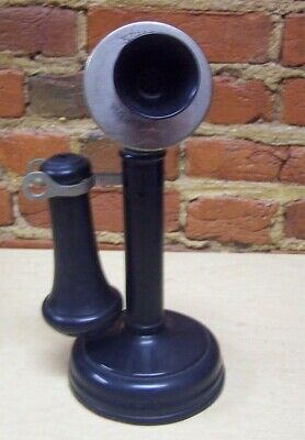 Antique Kellogg Candlestick Telephone For Parts/Restoration Nice Paint
