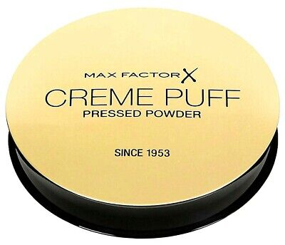 MAX FACTOR Creme Puff Compact Pressed Face Powder *Pick your Shade* Free P&P