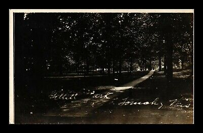 Dr Jim Stamps Us Park Scene Tomah Wisconsin Real Photo Rppc View Postcard