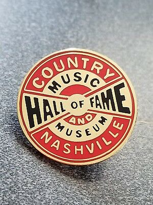 COUNTRY HALL OF FAME * MUSEUM NASHVILLE SOUVENIR pin