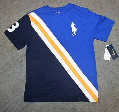 Polo Ralph Lauren Boys Short Sleeve T-Shirt (Big Pony) - Size M (10-12) - NWT