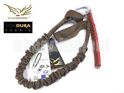 FLYYE Safety Lanyard Army Gear Stainless 650kg SGS Tested Tactical FYOT-G011 CB