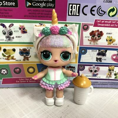 Real Glitter Unicorn LOL Surprise Doll Sparkle Series 1 toy for girl gift