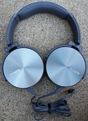 Sony MDR-XB950 Extra Bass Headphone - Silver (International Version) New out of