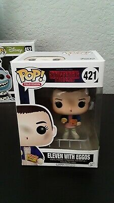 FUNKO POP! TELEVISION: STRANGER THINGS - ELEVEN WITH EGGOS 421 ship w protector