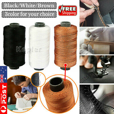 Strong Bounded Nylon Leather Sewing Waxed Thread for Craft Repair Shoes 2019
