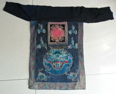 chinese old hand embroidery Apron