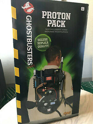 Spirit Halloween Light-Up Deluxe Replica Proton Pack - Ghostbusters
