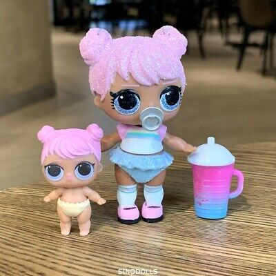 LOL Surprise Bling Series DAWN Doll & Lil  Set Rare Gift Toy Xmas gift